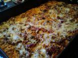 Reduced Fat Spaghetti Casserole