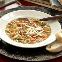 Image of Soup - Hearty Minestrone Soup, Spark Recipes
