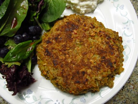 Oatmeal-Egg Patty
