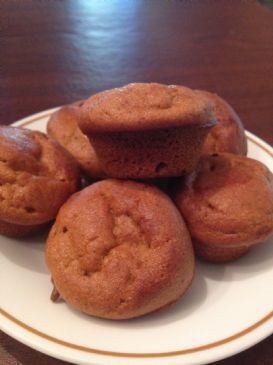 Vi- Pumpkin Spice muffins