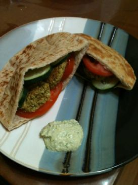 Fast and Easy Baked Falafel