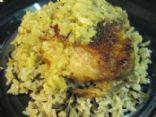 Jamaican Chicken w/ Wild Rice