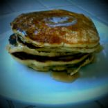 Pumpkin Persimmon Pancakes