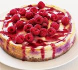 Baked Raspberry un-Cheesecake