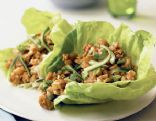 Thai Inspired Chicken Lettuce Wraps