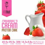 FIT MISS Strawberries 'n Cream Cake