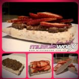 Muscle Worx For Her Chef Daisy Homemade Pop Tarts with Peanut Butter and Strawberries