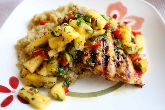 Caribbean Chicken With Pineapple Salsa Recipes — Dishmaps