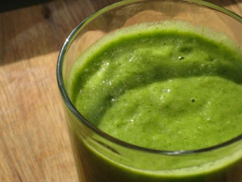 Kelly's Creamy Green smoothie