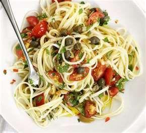 Spaghetti Alla Puttanesco (Uncooked Version)