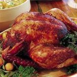 Deep Fried Turkey ~ Place On Platter & Serve