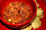 Hearty Chili with Black Beans & Corn