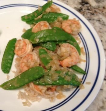 Lime & Ginger Shrimp
