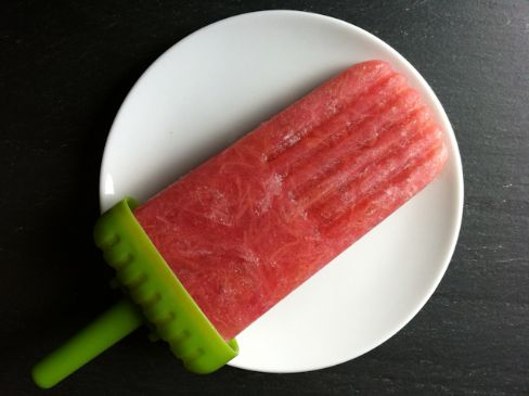 Rhubarb Apple Popsicles