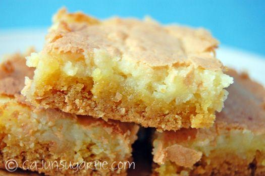 Ooey Gooey Butter Cookies With Cake Mix