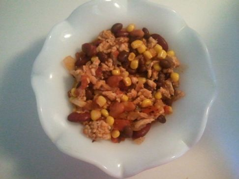 Trisha's Homemade Turkey Chili