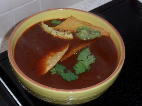 KIST's Mexican Tortilla Soup