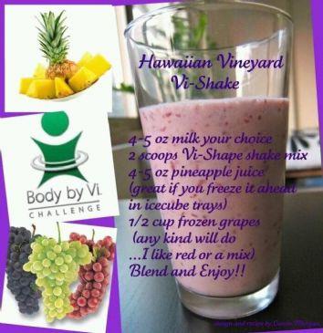 Hawaiian Vineyard Vi-Shake