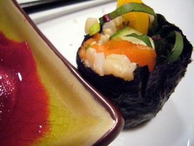 Tuna Rolls minus the Sushi Rice