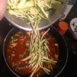 BrittanyBlum.com :: Low Carb Zucchini Turkey Pasta