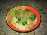Quick and Easy Farfalle with Caramelized Onions and Broccoli