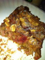 Peanut Butter & Jelly Baked Oatmeal (vegan)