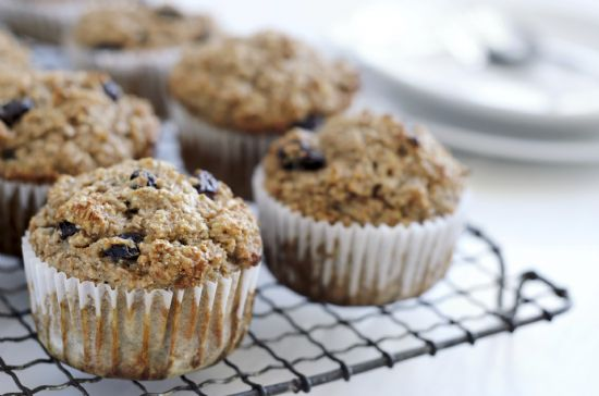 Banana Raisin Muffins RECIPE