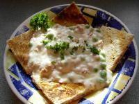 Creamed Tuna & Peas