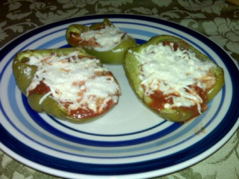 HG Dan's Snazzy Green Pepper Pizzas