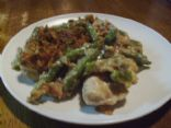 chicken & green bean casserole