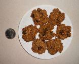 Fabulous 45 Calorie Oatmeal Raisin Cookies