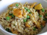 Baked Barley Sweet Potato Risotto