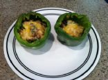 Chicken Stuffed Bell Peppers