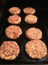 Kamut and adzouki bean veggie burgers