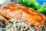 Miso Caper Glazed Salmon