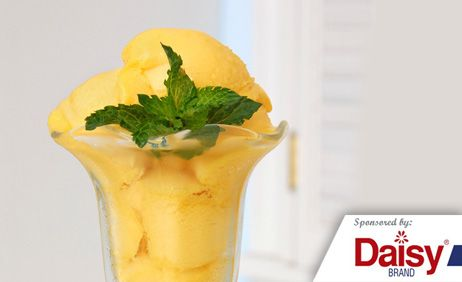 Mango Ginger Ice Cream from Daisy Brand 