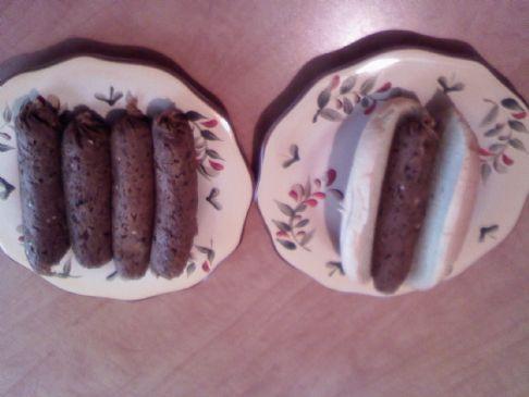 Vegan Brat Sausage