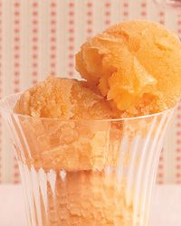 Cantaloupe-Ginger Sorbet