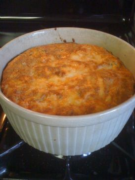 Mushroom and Cheese Souffle