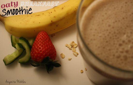 Oaty Breakfast Smoothie