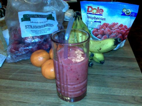 New Year Smoothie : 1 Serving
