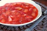 Strawberry-Rhubarb-Banana Compote