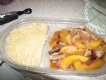 Porkchops and Peaches (from REAL SIMPLE Aug 2010)