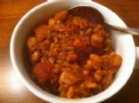 Sweet Potato Chili (for crockpot/ slow cooker)