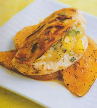 Char Grilled Pineapple Chicken Pockets