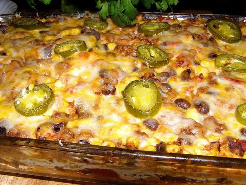 The best mexican beef casserole ever recipe sparkrecipes