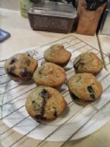 rayne's blueberry muffins