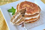 Tiramisu Protein Pancakes (from KissMyBroccoli)