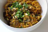Turmeric-Spiced Mushroom Pilaf