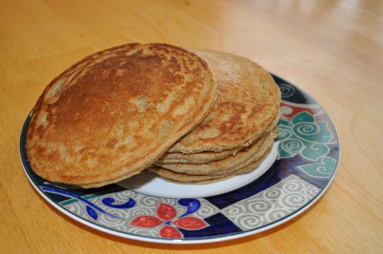 Soy Flour Pancakes! Yummy!!